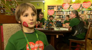 Dano mu życie, on daje samego siebie. Historia 10-letniego Wojtka, wolontariusza WOŚP
