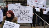 Pracownicy prokuratur dołączają do protestu pracowników sądów