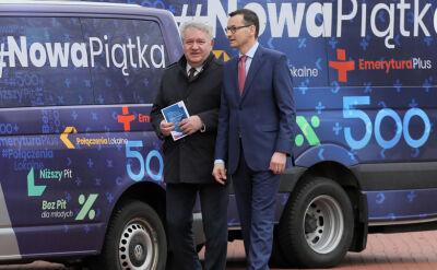 """Rząd chce konsultować nową piątkę Kaczyńskiego. """"Rozdawanie cudzych pieniędzy"""""""
