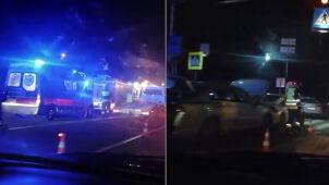 Pięć samochodów zderzyło się na S7