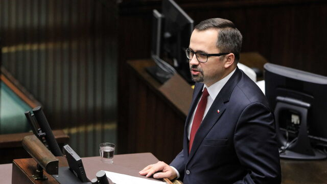 Marcin Horała has withdrawn the draft bill on social security reform abolishing income limit of thirtyfold the average wage