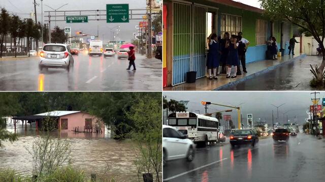 Burza tropikalna Fernand uderzyła w wybrzeże
