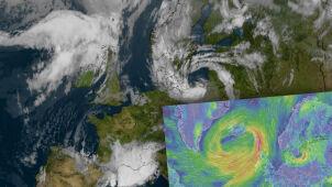 Były huragan Dorian powoli zbliża się do Polski