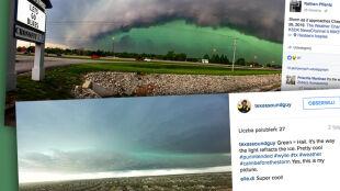 Dlaczego podczas burzy niebo robi się zielone?