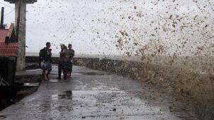 Potężny tajfun Kammuri uderzył w Filipiny