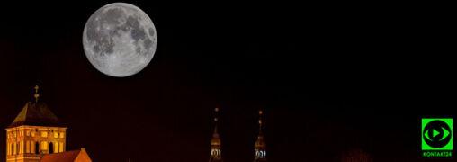 Pełnia Różowego Księżyca na Waszych zdjęciach