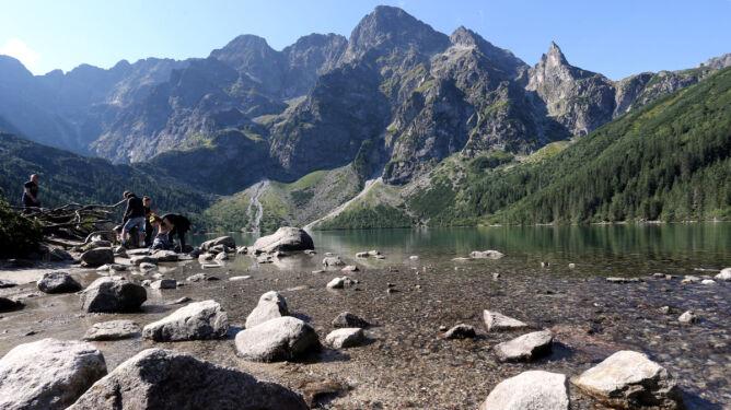 Rekordy pogodowe w Tatrach. <br />Po raz pierwszy było tam termiczne lato