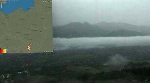 Zobacz, jak burze nadciągnęły nad Tatry