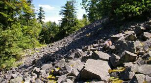 To Skała Agaty, a nie Łysica jest najwyższym punktem Gór Świętokrzyskich