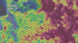 Potencjalne burze w najbliższych dniach (ventusky.com | wideo bez dźwięku)