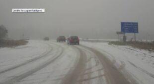 Śnieg w Bułgarii