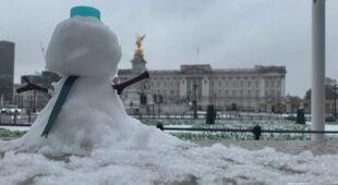 Śnieg w Wielkiej Brytanii